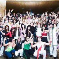 Fuerteventura dance holiday 2016 Fancy Dress Group